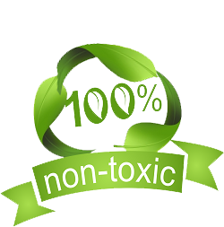 100% non-toxic cleaning